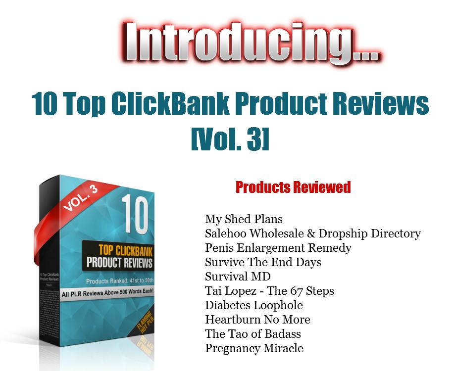 Top ClickBank Product Reviews 2017 OTO2 – Flaming Hot PLR Deals