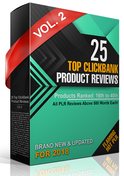 25 Top Clickbank Product Reviews PLR