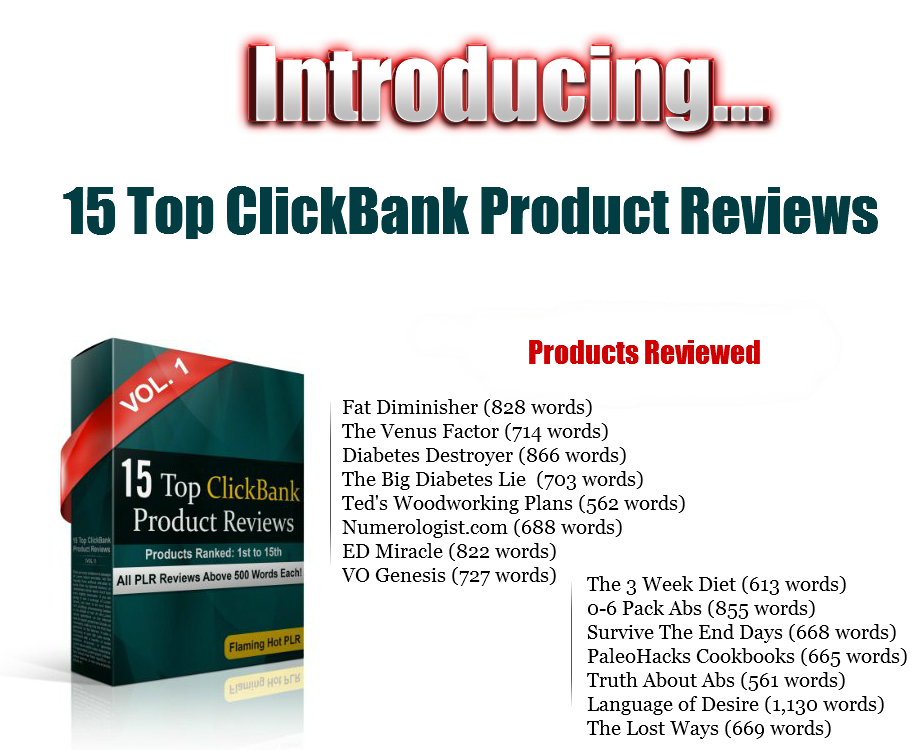 top 15 clickbnk product reviews