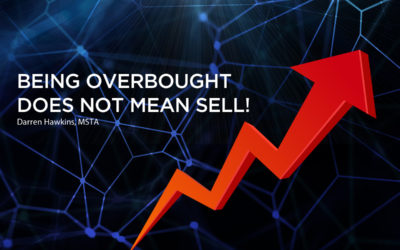 Being overbought does not mean sell!