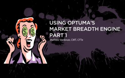 Using Optuma's Market Breadth Engine – Part 1