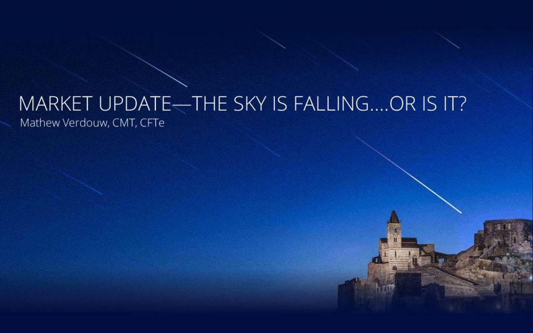 Market Update – The sky is falling….or is it?