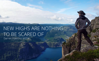 New highs are nothing to be scared of