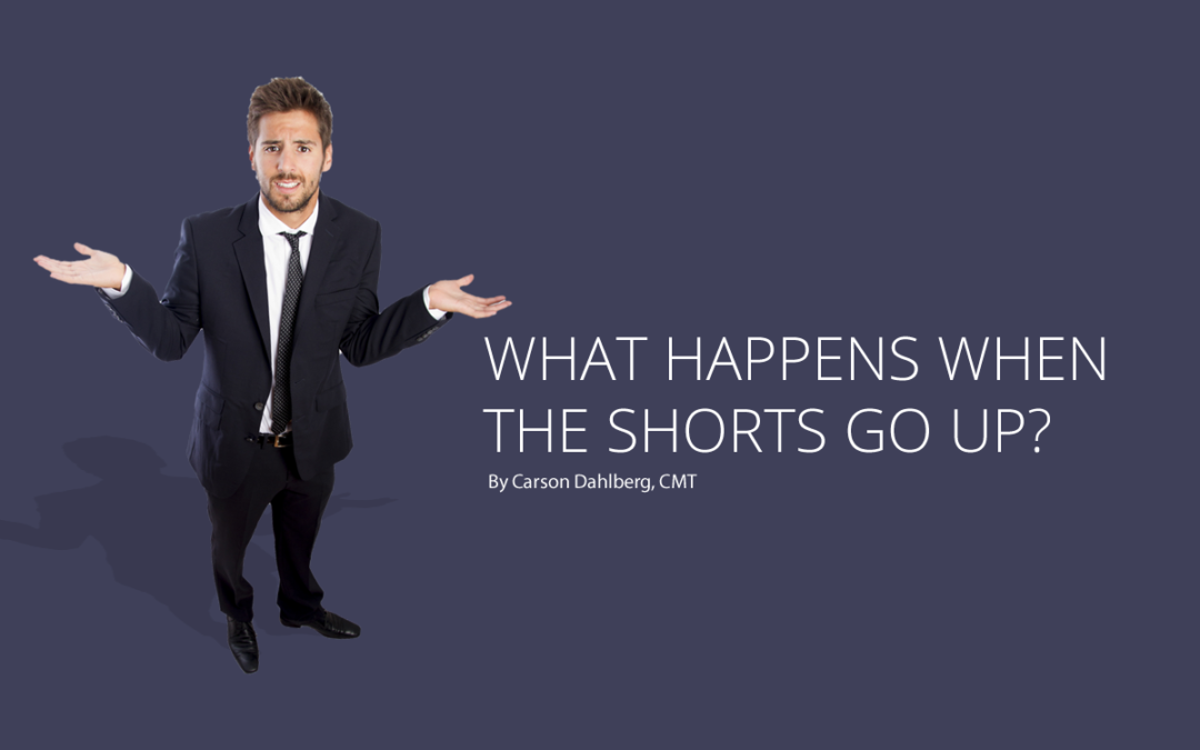 What happens when the shorts go up?