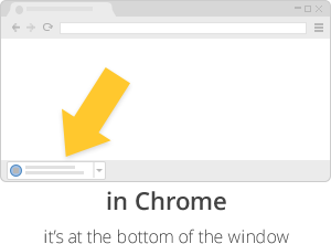 Installer in Chrome