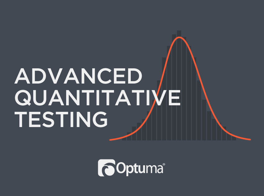 Advanced Quantitative Testing Course