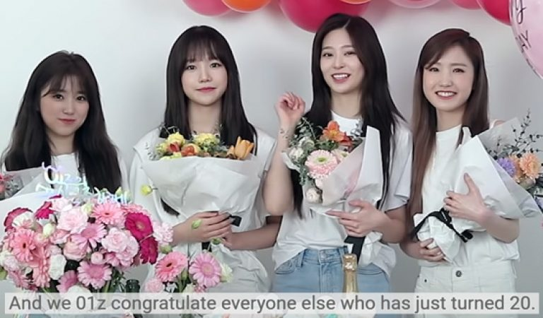 (ENG SUB) IZ * ONE Girls จัดปาร์ตี้ Coming-of-Age-Age บน 1stLook TV