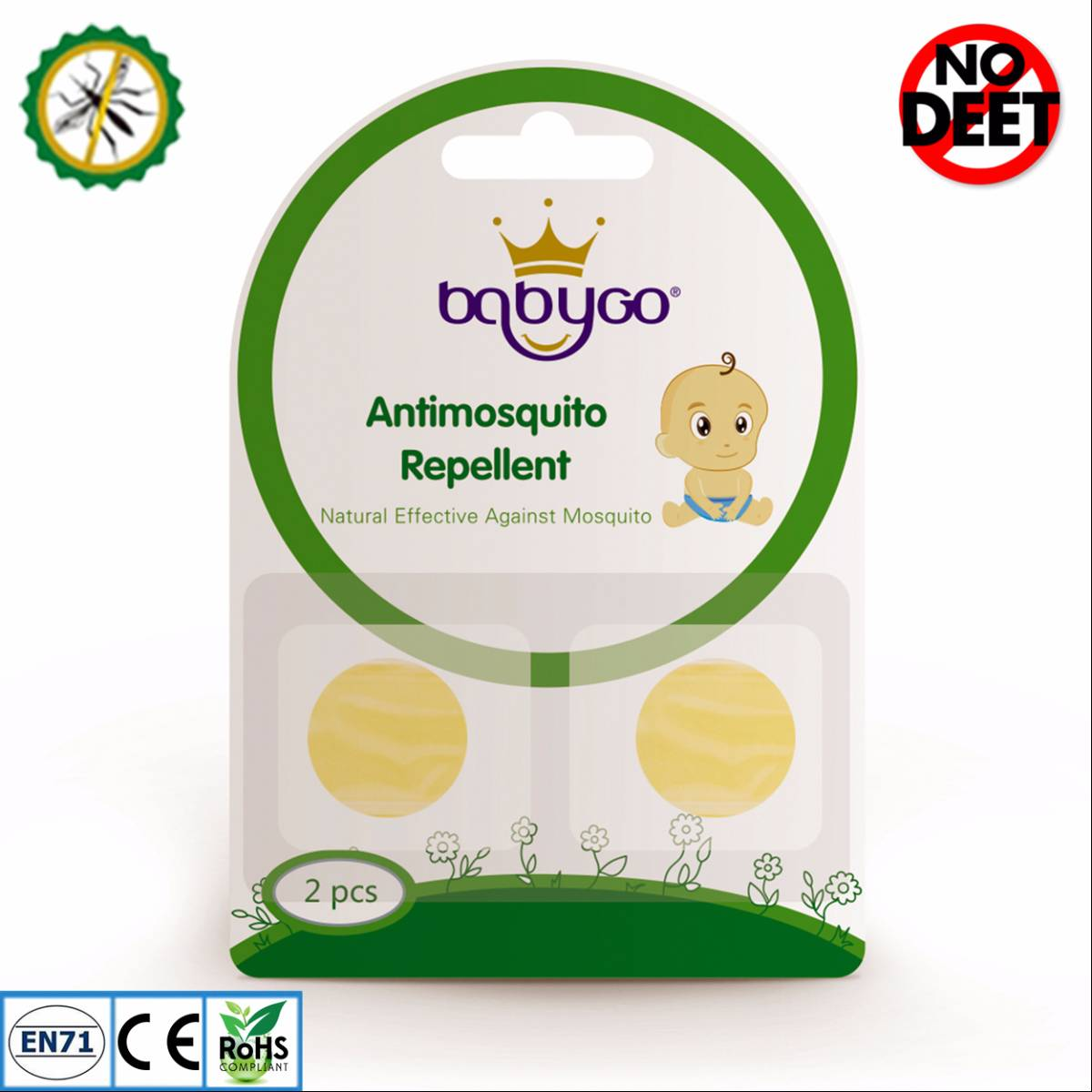 Babygo Refill Smiley Mosquito Repellent (isi Ulang Anti Nyamuk)0