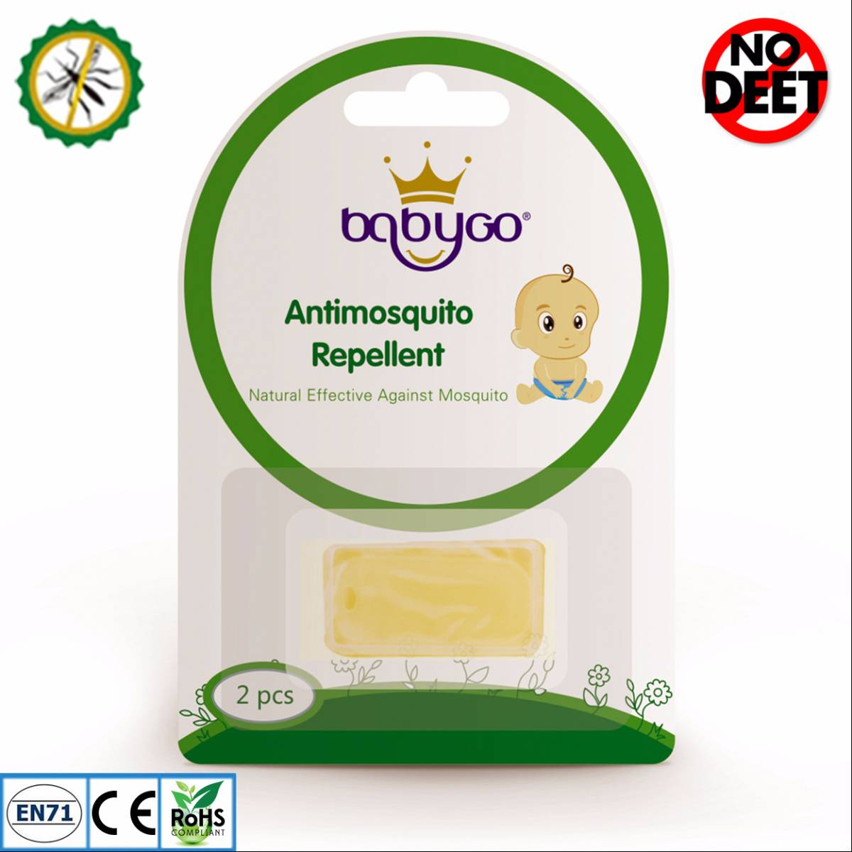 Babygo Refill Pellet Mosquito Repellent (isi Ulang Anti Nyamuk)