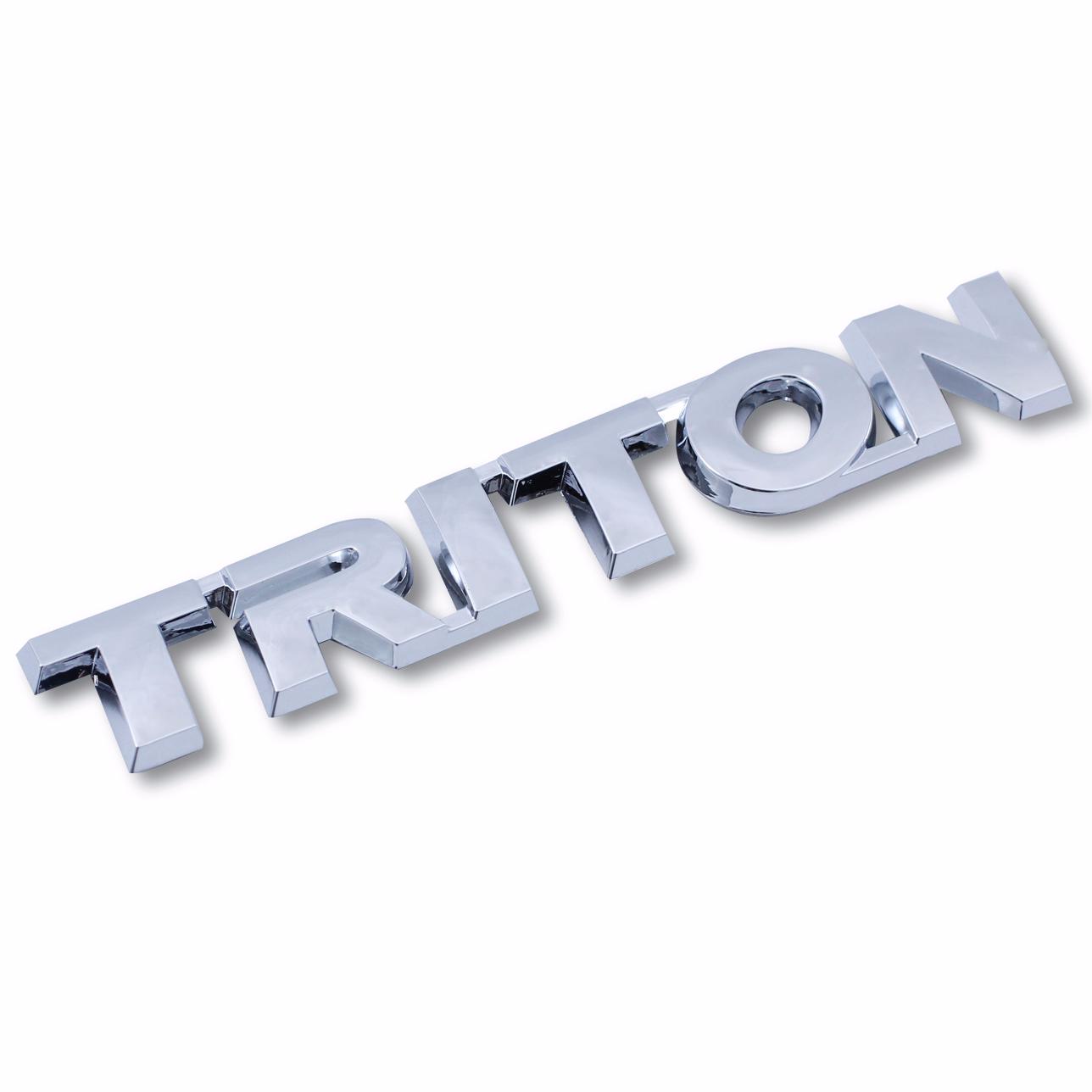 Emblem Logo Triton