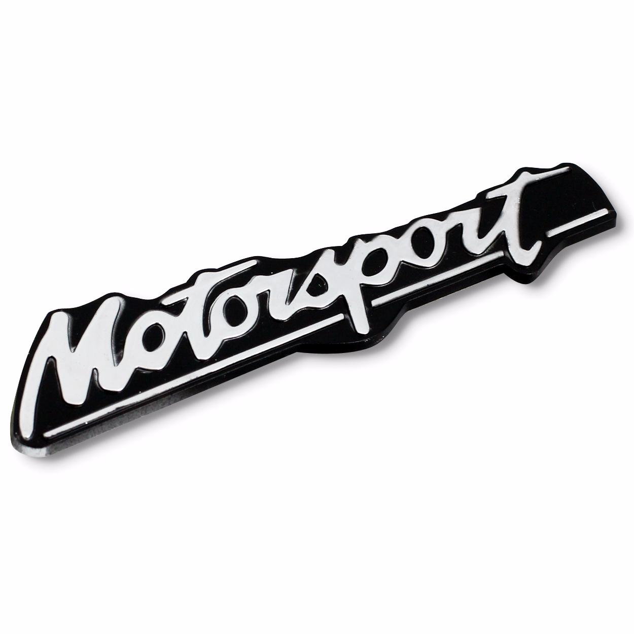 Emblem Logo Motorsport - Black