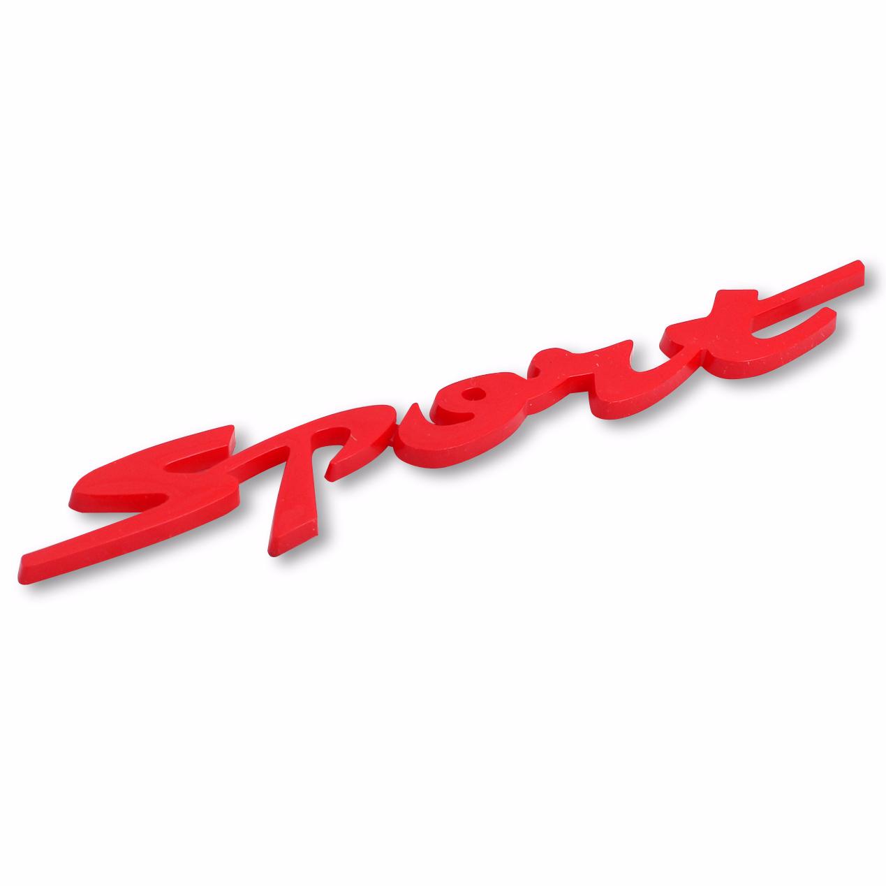 Emblem Logo Sport - Red