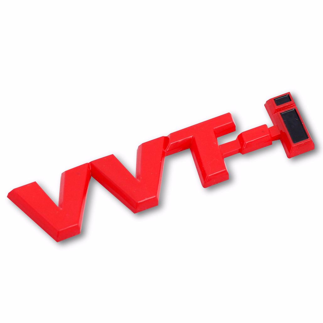 Emblem Logo Vvti - Red