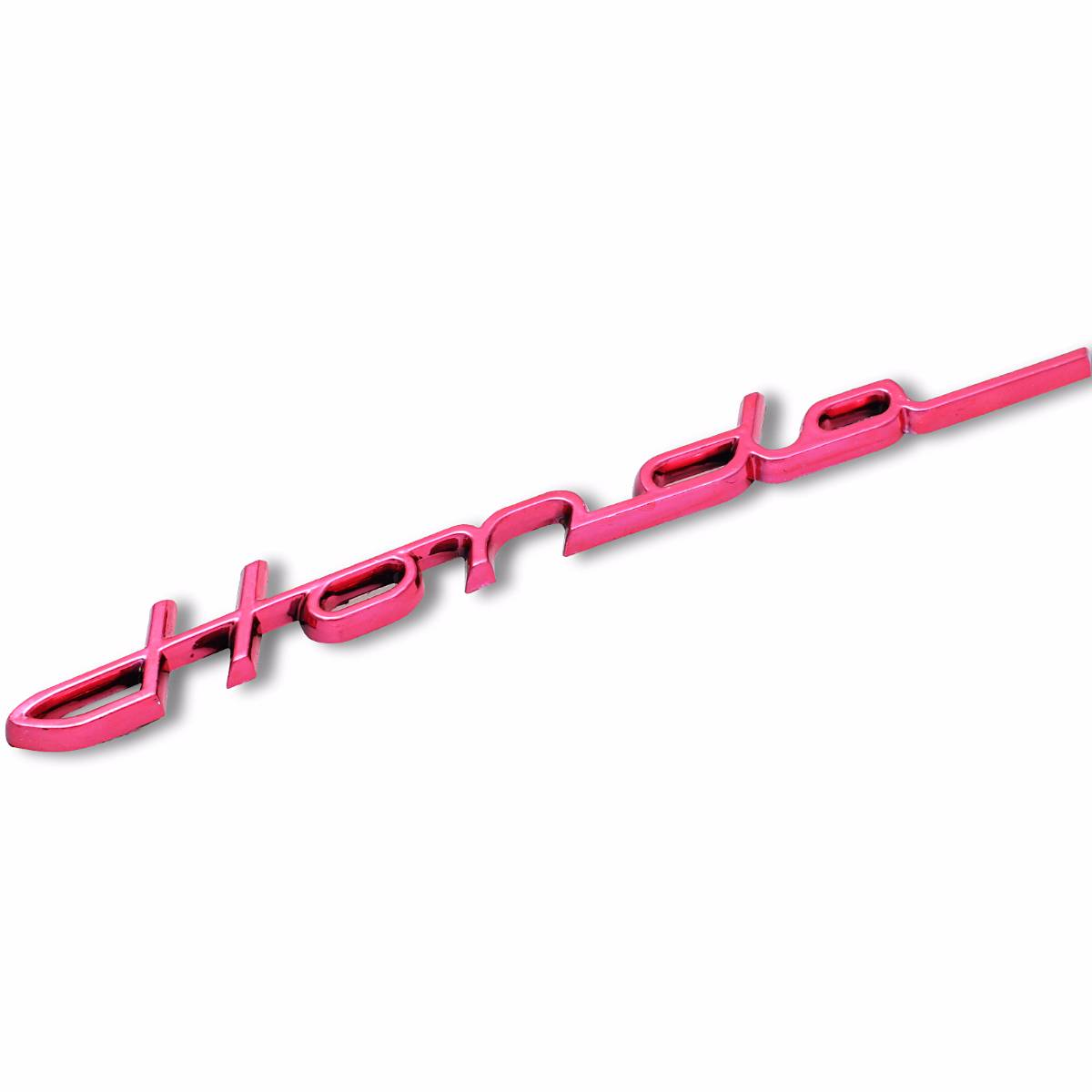 Emblem Logo Honda Handwritting - Red