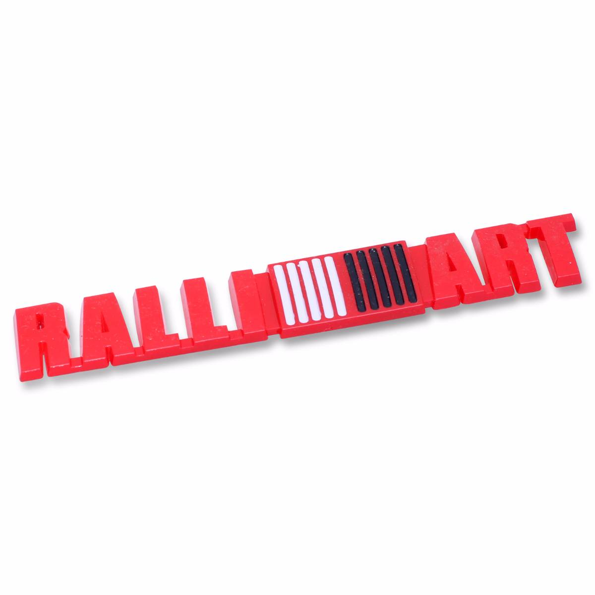 Emblem Logo Ralli Art - Red