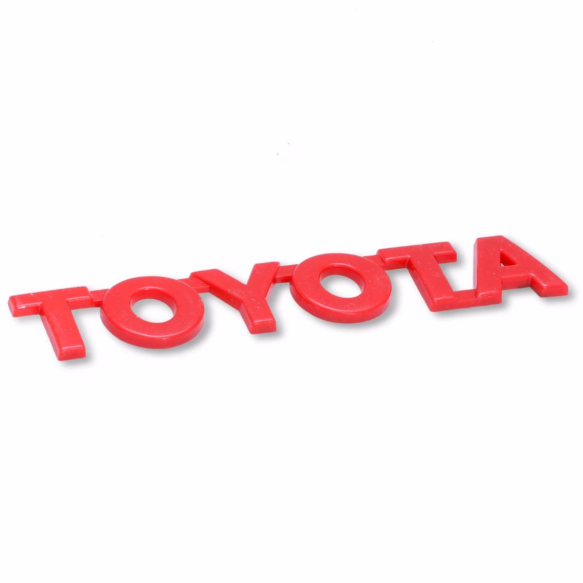 Emblem Logo Toyota - Red