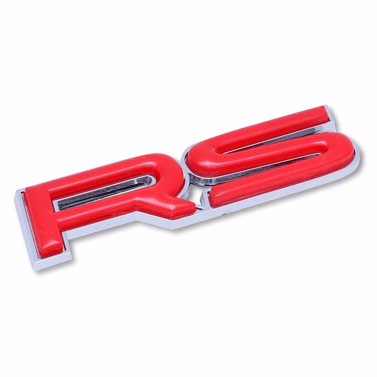 Emblem Logo Rs - Outline Chrome