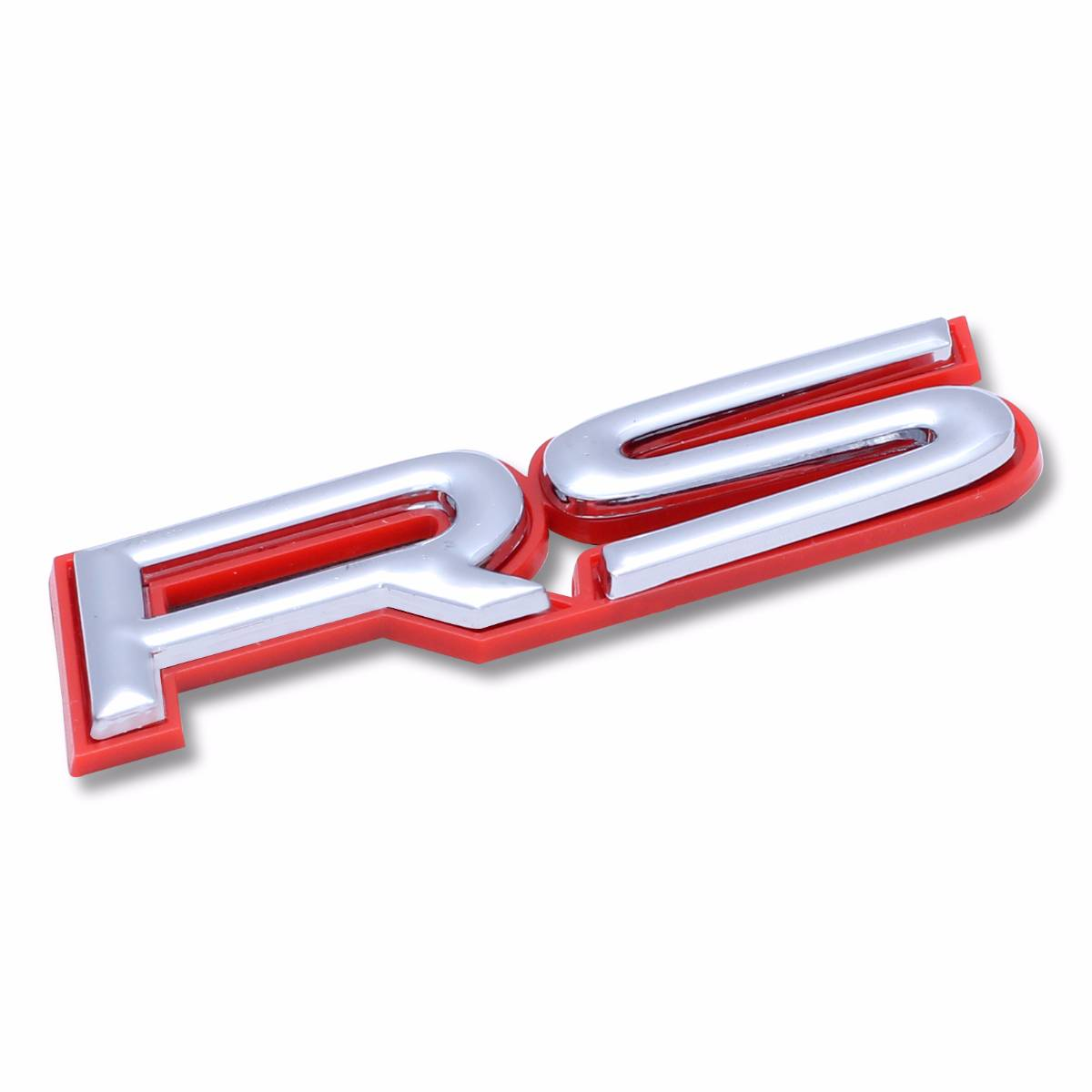 Emblem Logo Rs - Outline Red