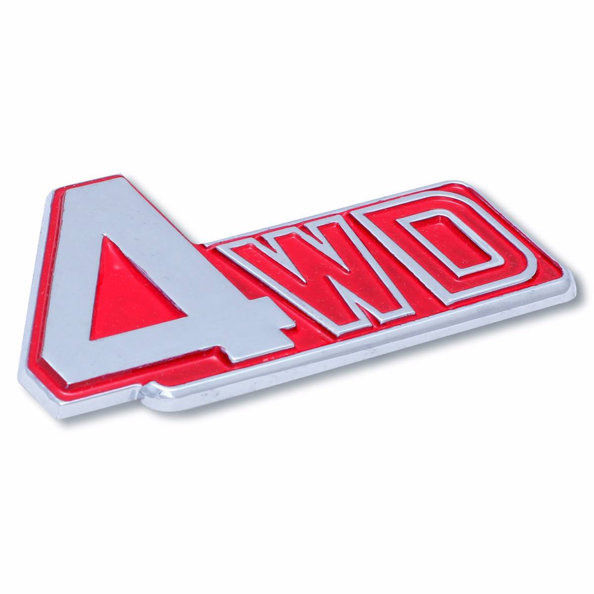Emblem Logo 4wd - Red
