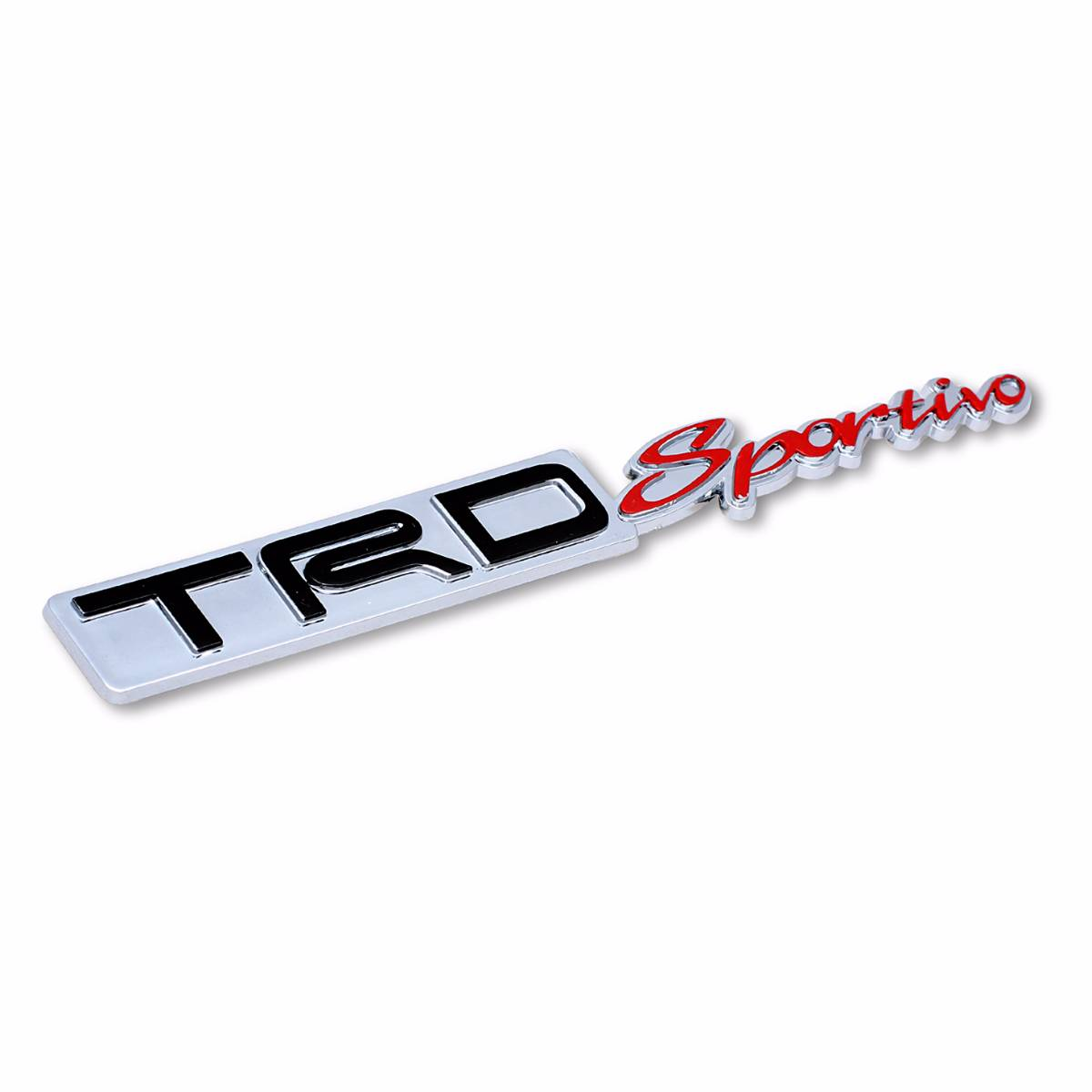 Emblem Logo Trd Sportivo - Embose Chrome (small)