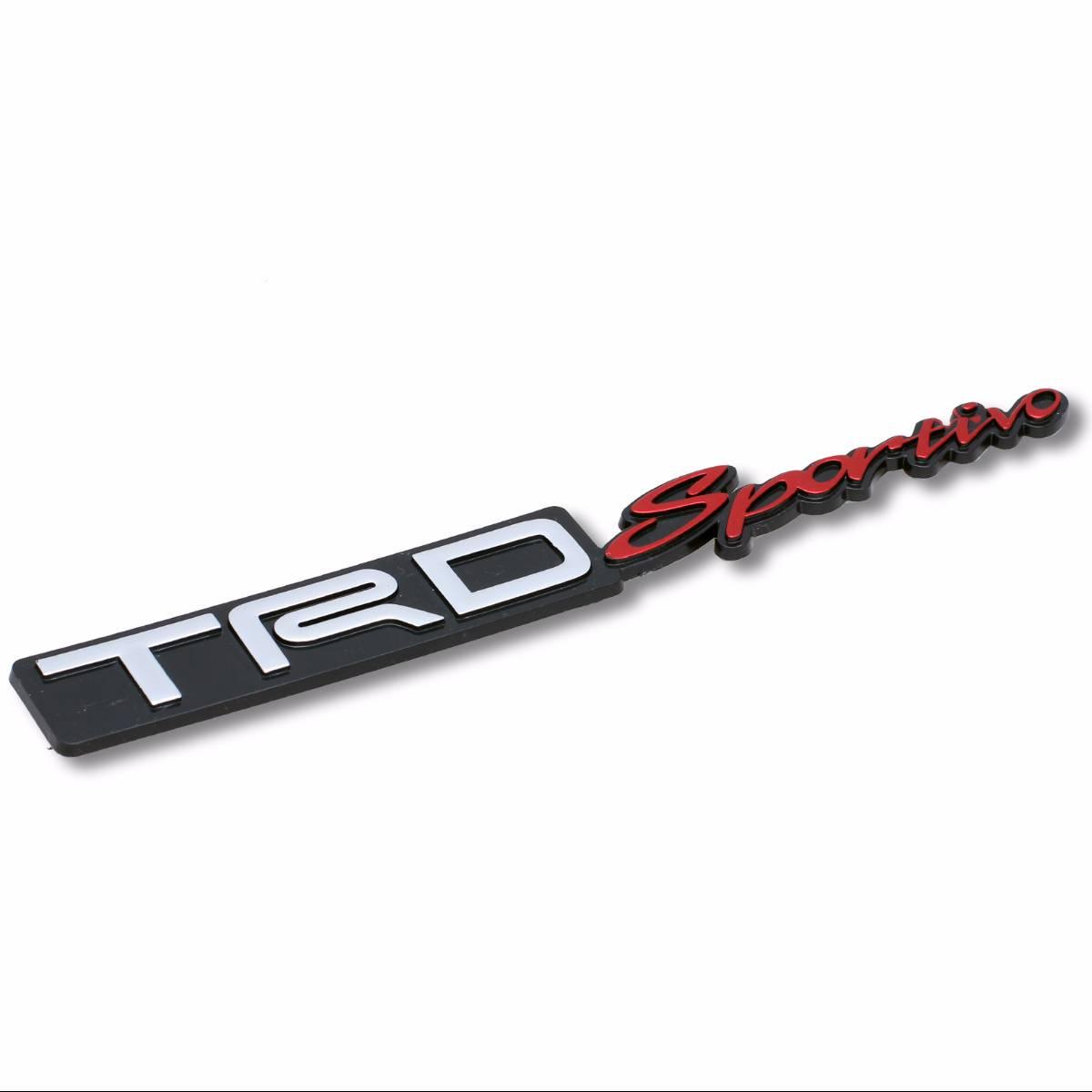 Emblem Logo Trd Sportivo - Embose Black