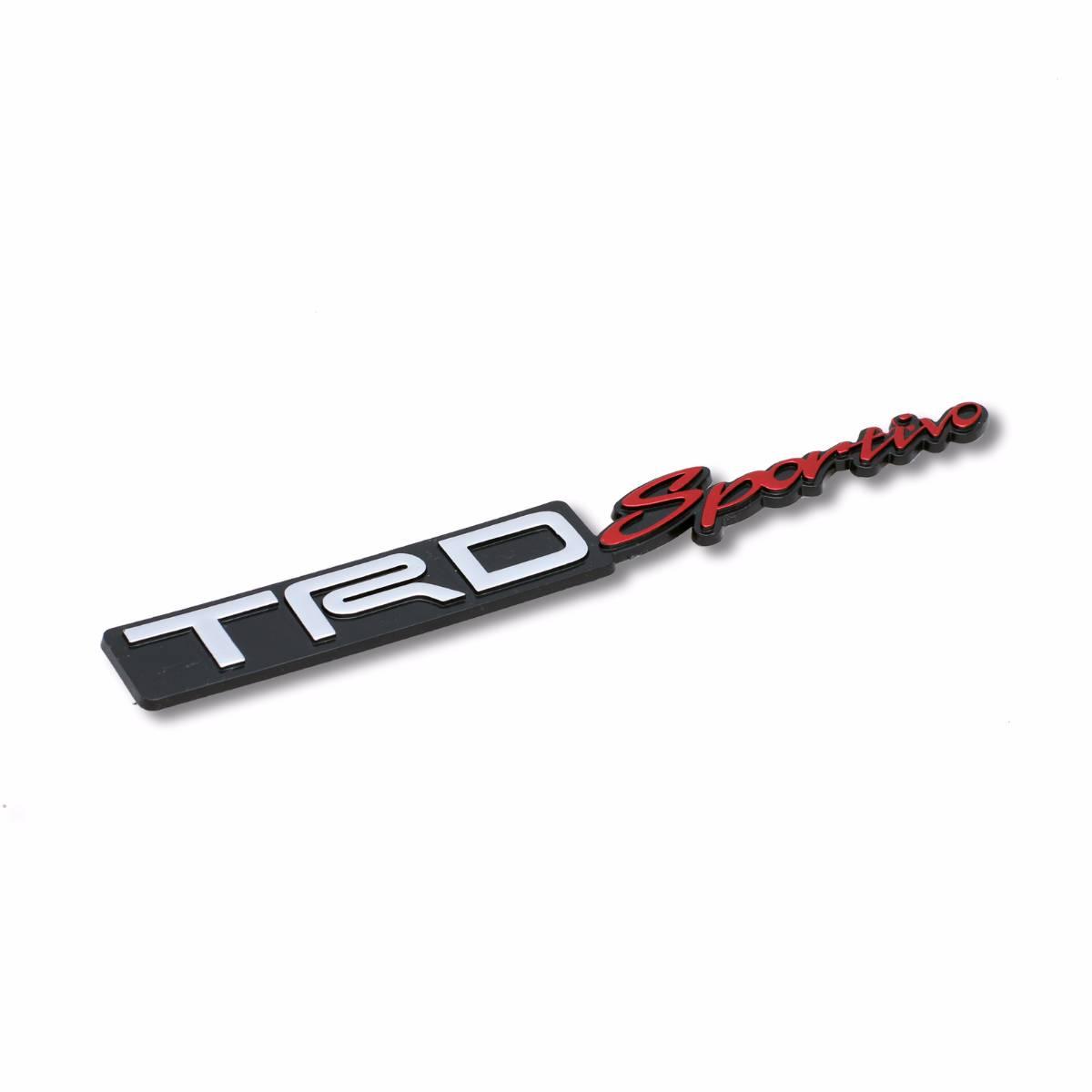 Emblem Logo Trd Sportivo - Embose Black (small)
