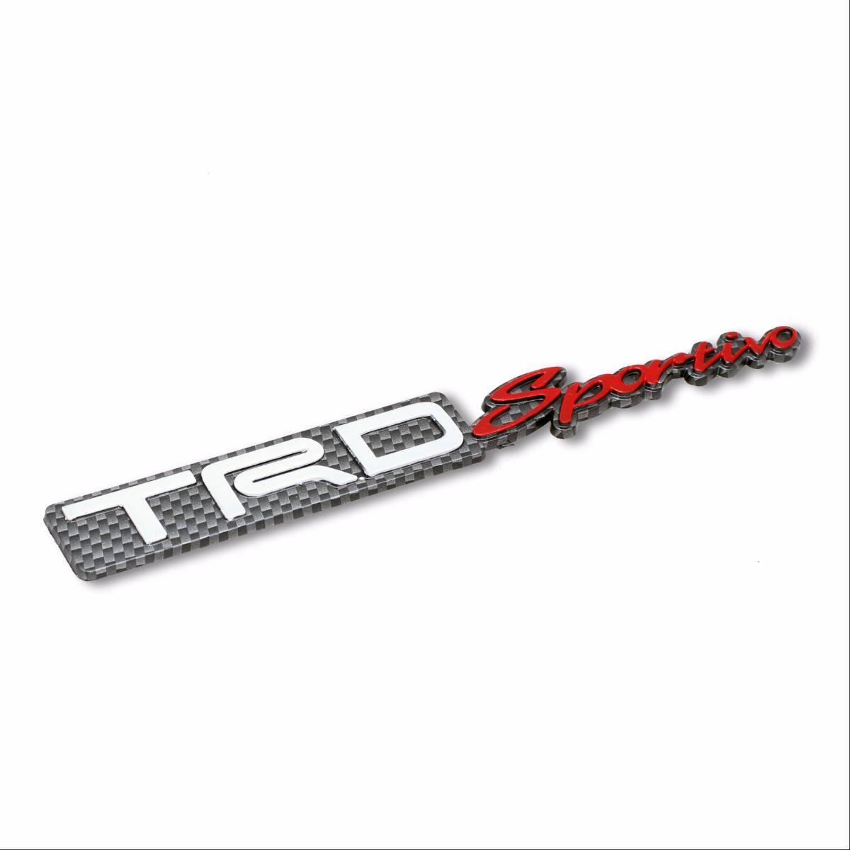 Emblem Logo Trd Sportivo - Embose Carbon