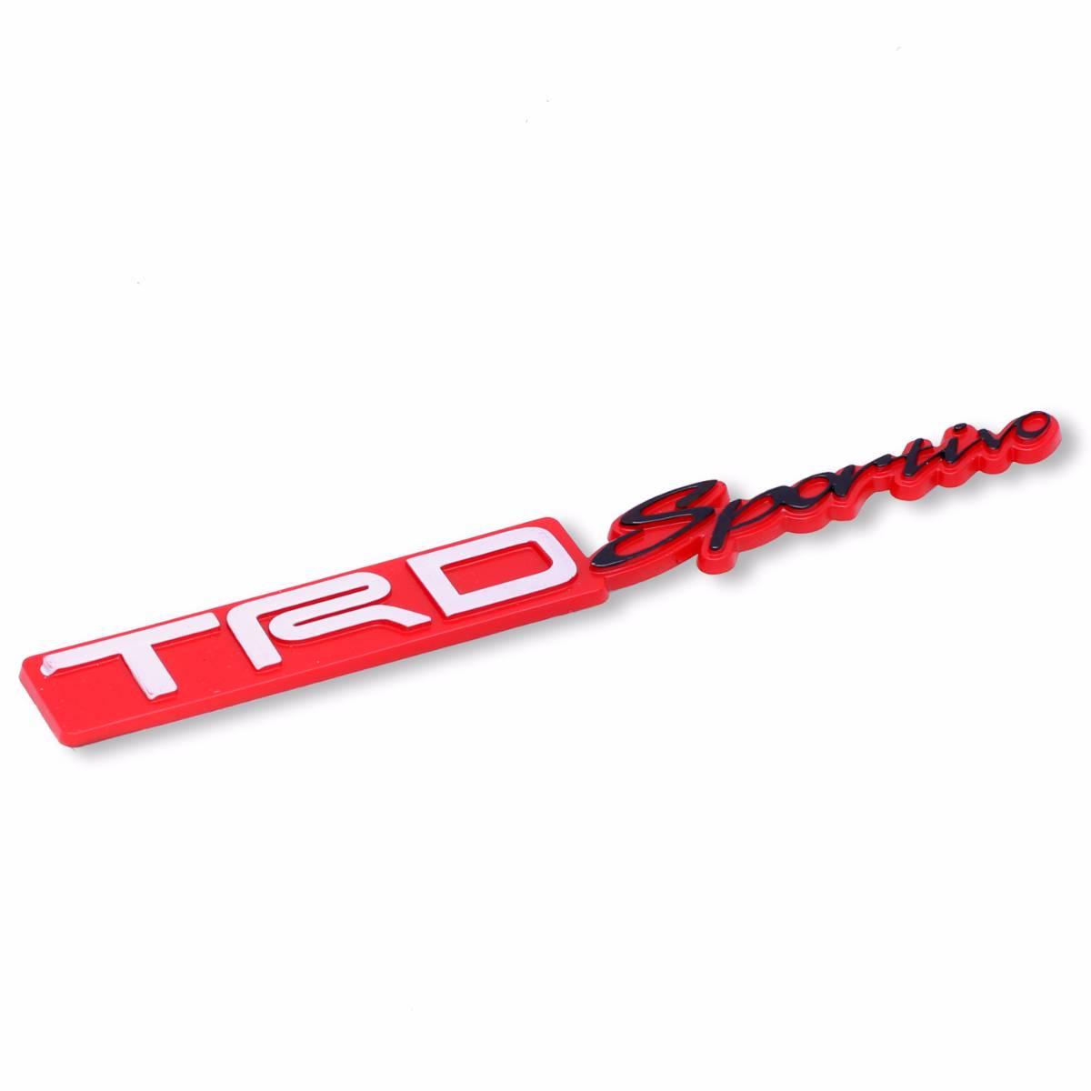 Emblem Logo Trd Sportivo - Embose Red