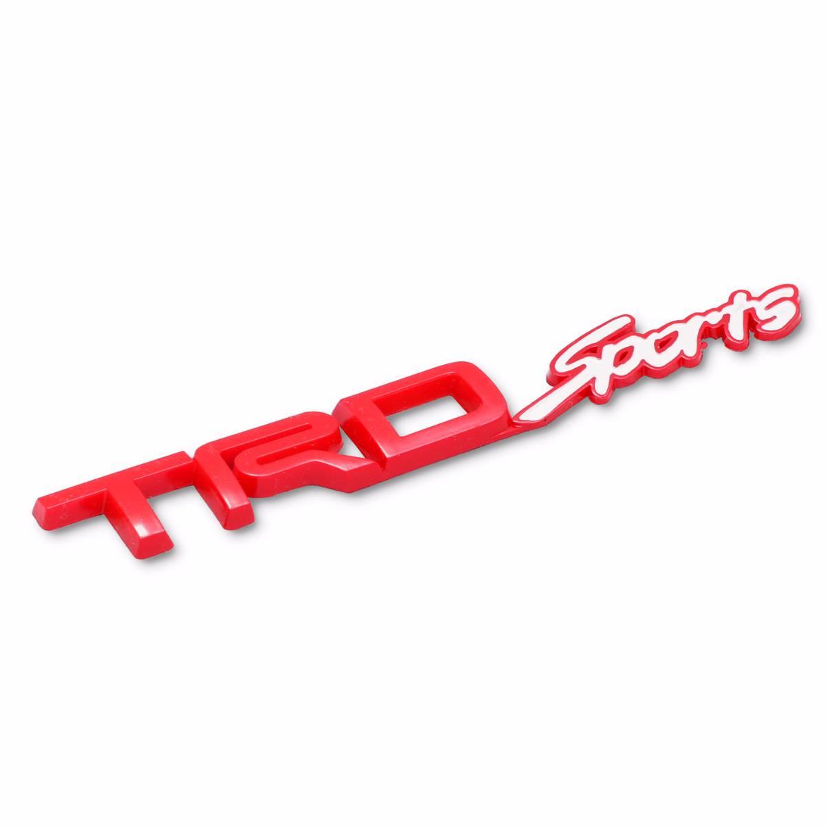 Emblem Logo Trd Sport - Red