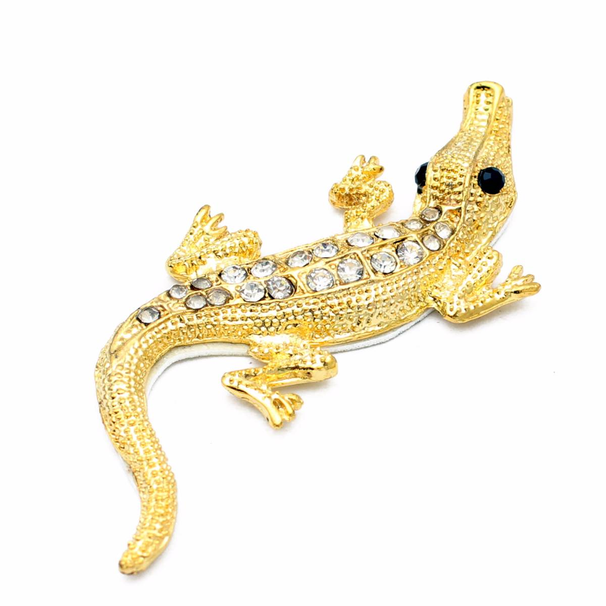 Emblem Variasi Crocodile - Gold