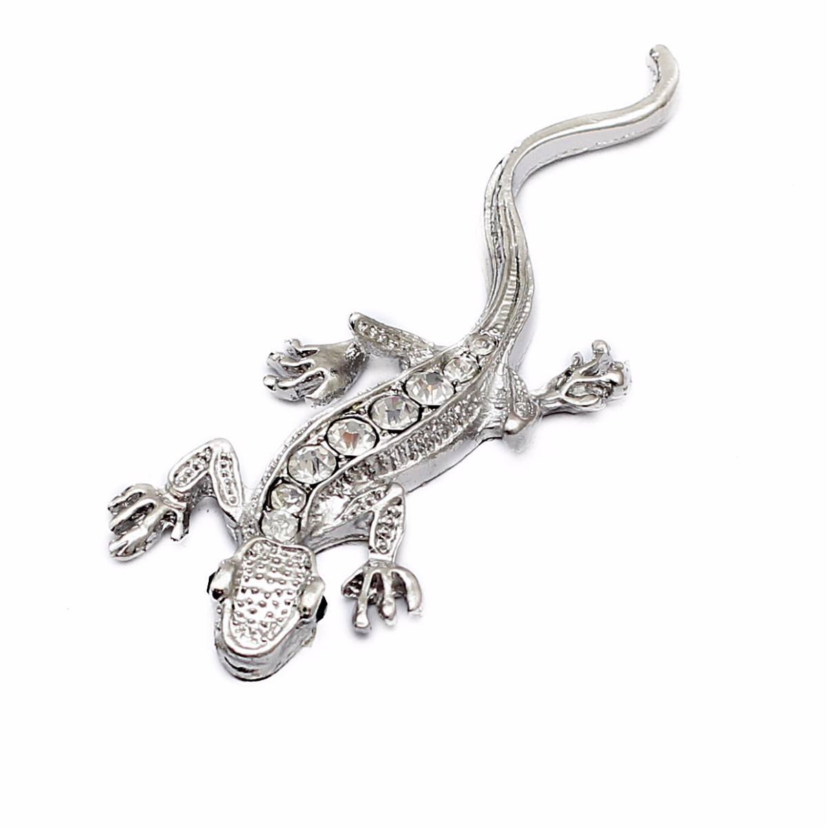 Emblem Variasi Gecko - Chrome