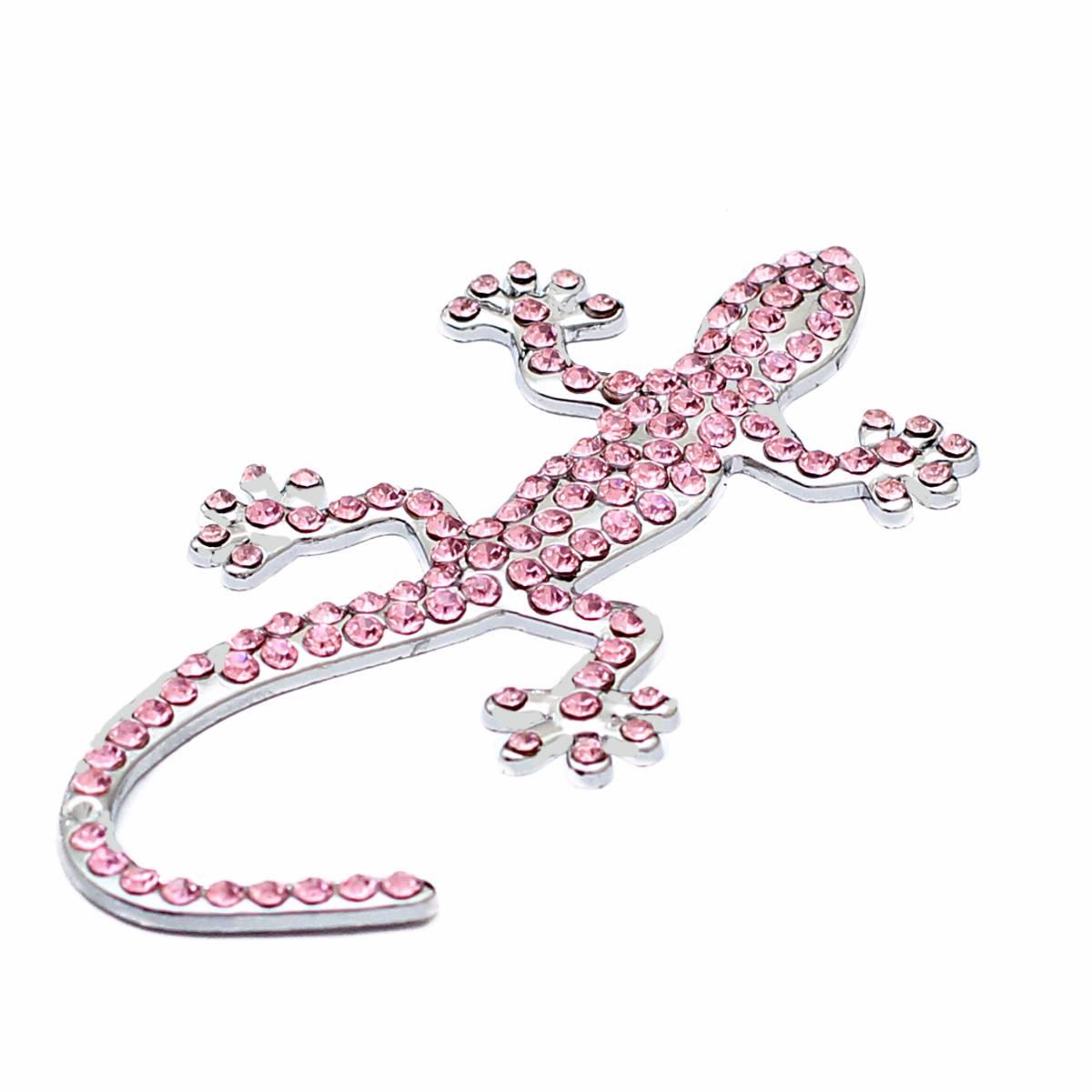 Emblem Variasi Gecko - Pink