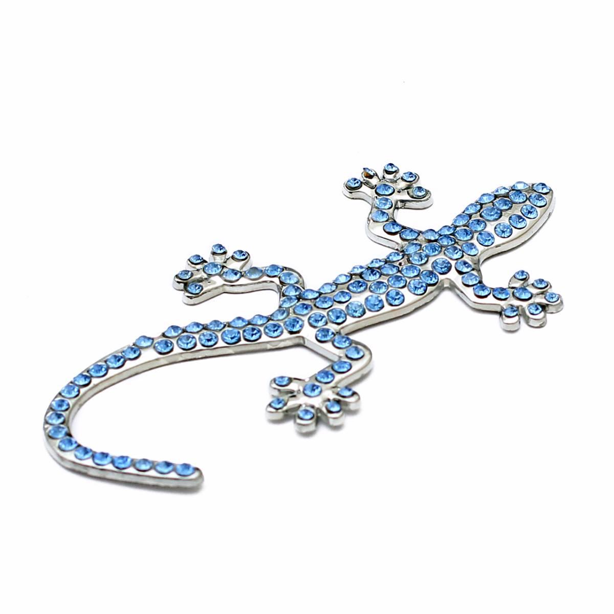 Emblem Variasi Gecko - Blue