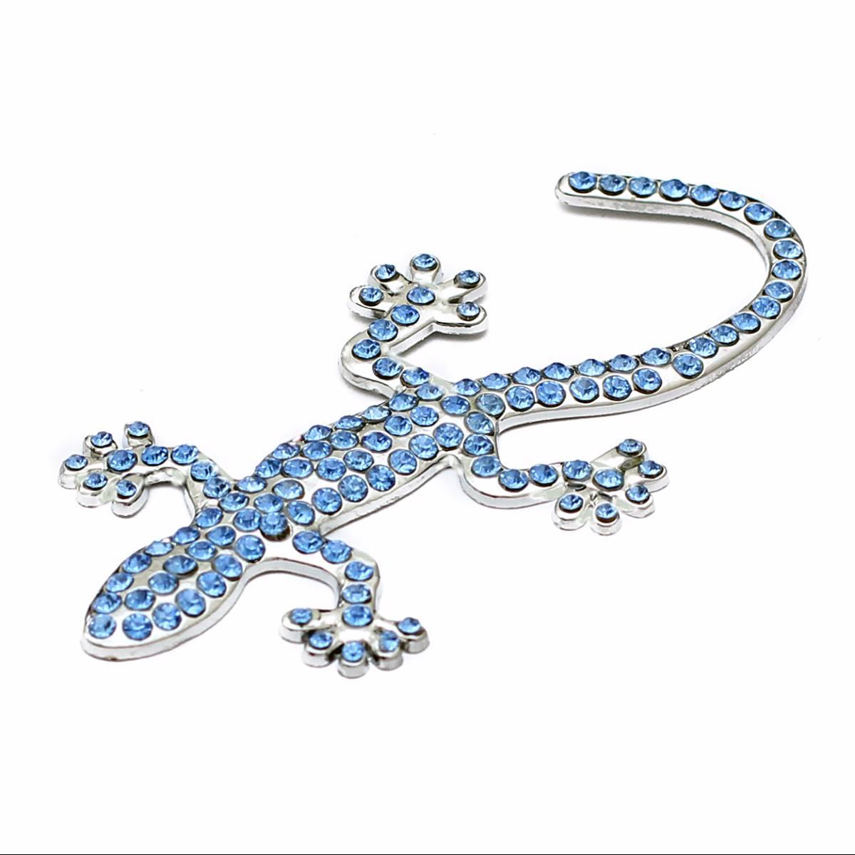 Emblem Variasi Gecko - Blue1