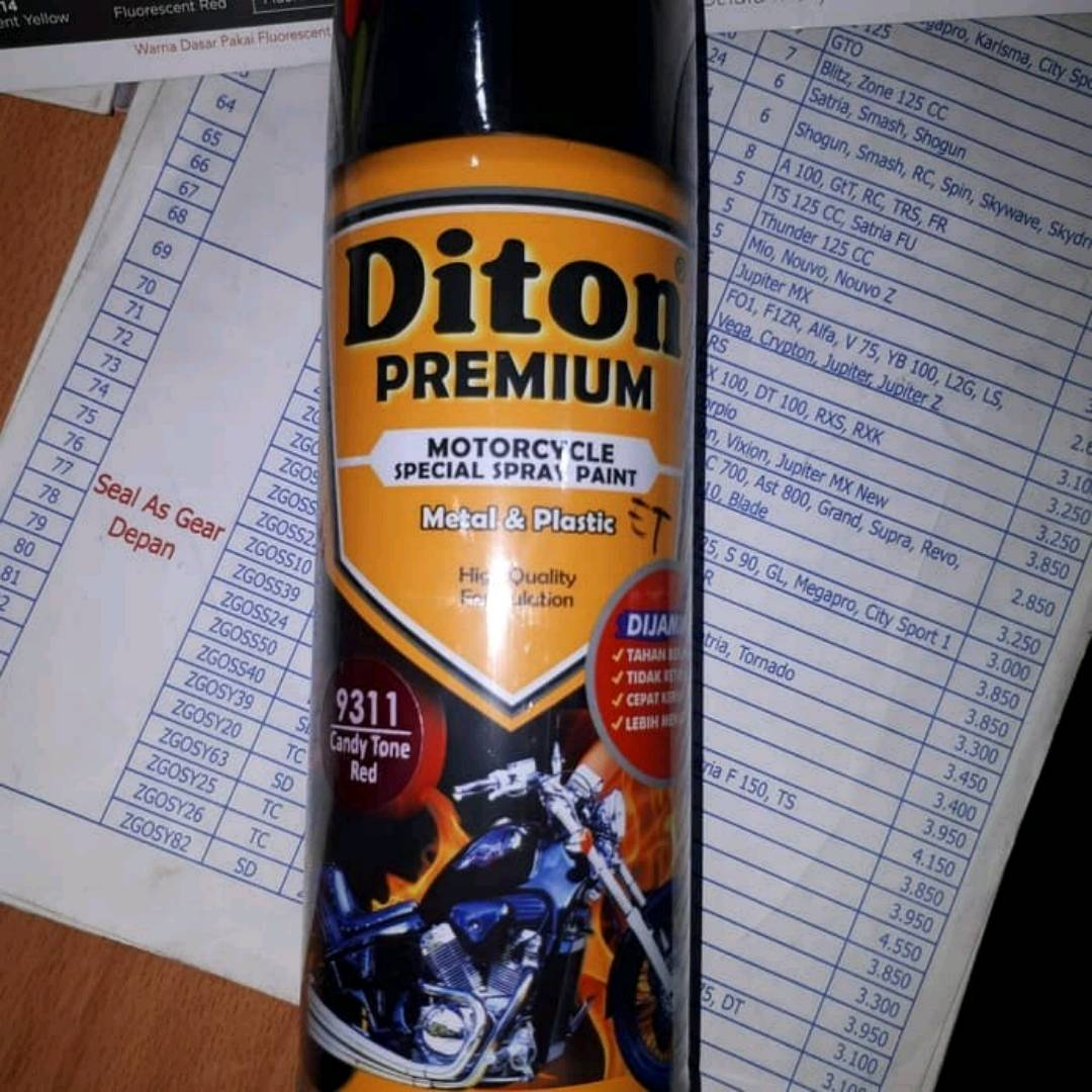 Diton Premium Candy Tone Red ( 9311 )0