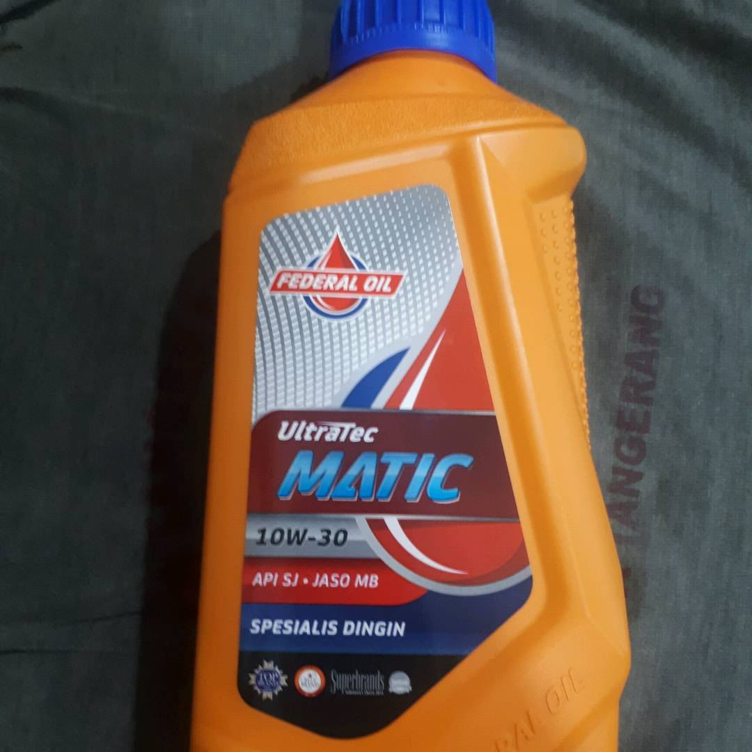 Oli Mesin Federal Matic 0.8 L