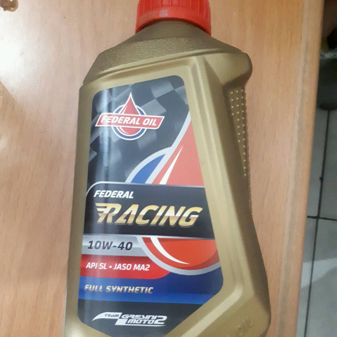 Oli Mesin Federal Racing 1L