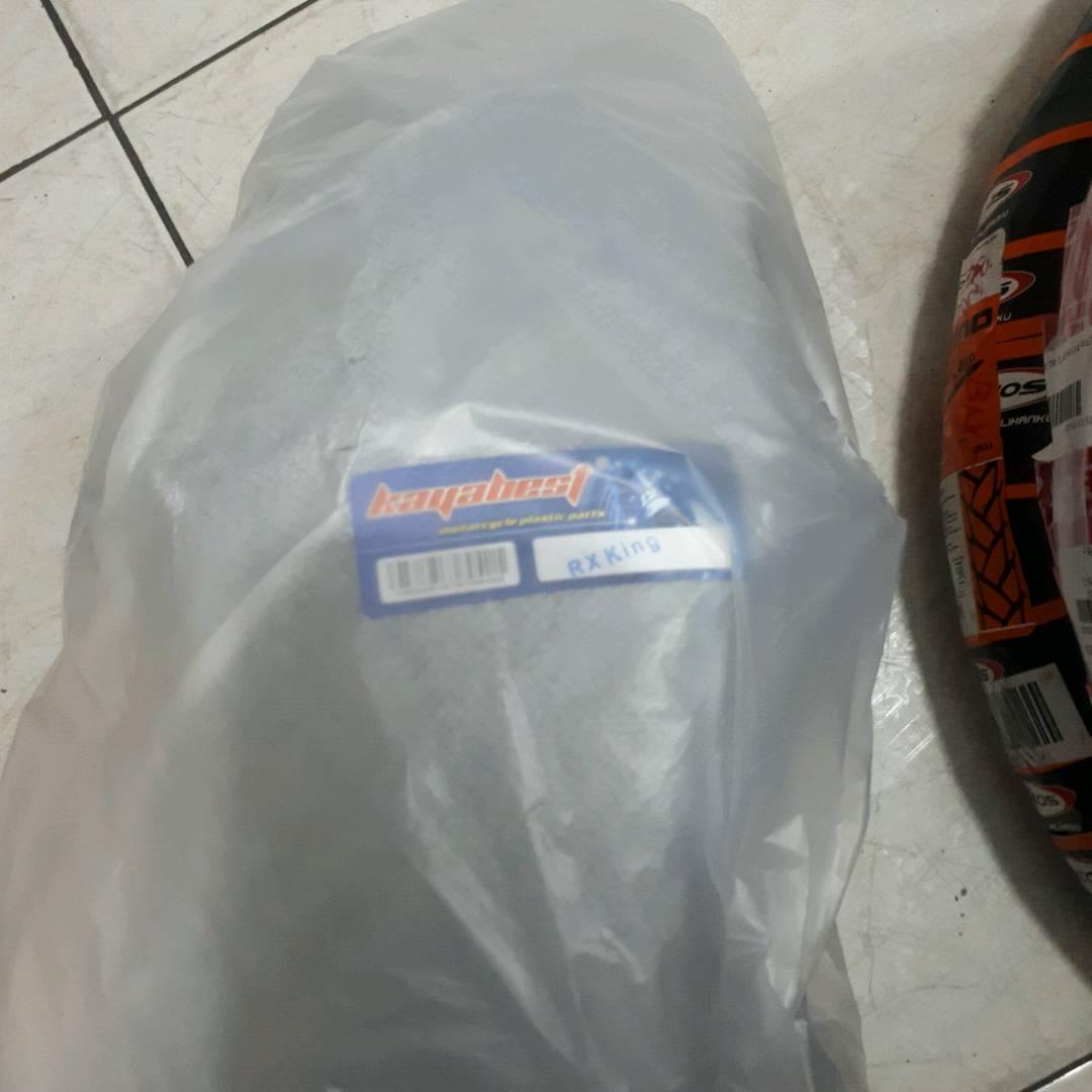 Spakbor Depan Rx King Hitam - Kayabest