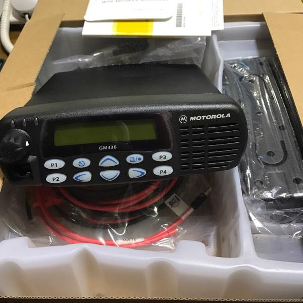 Motorola GM 338 VHF 45 Watt Mobile Radio