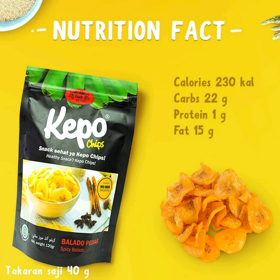 Kepo Chips Balado Pedas