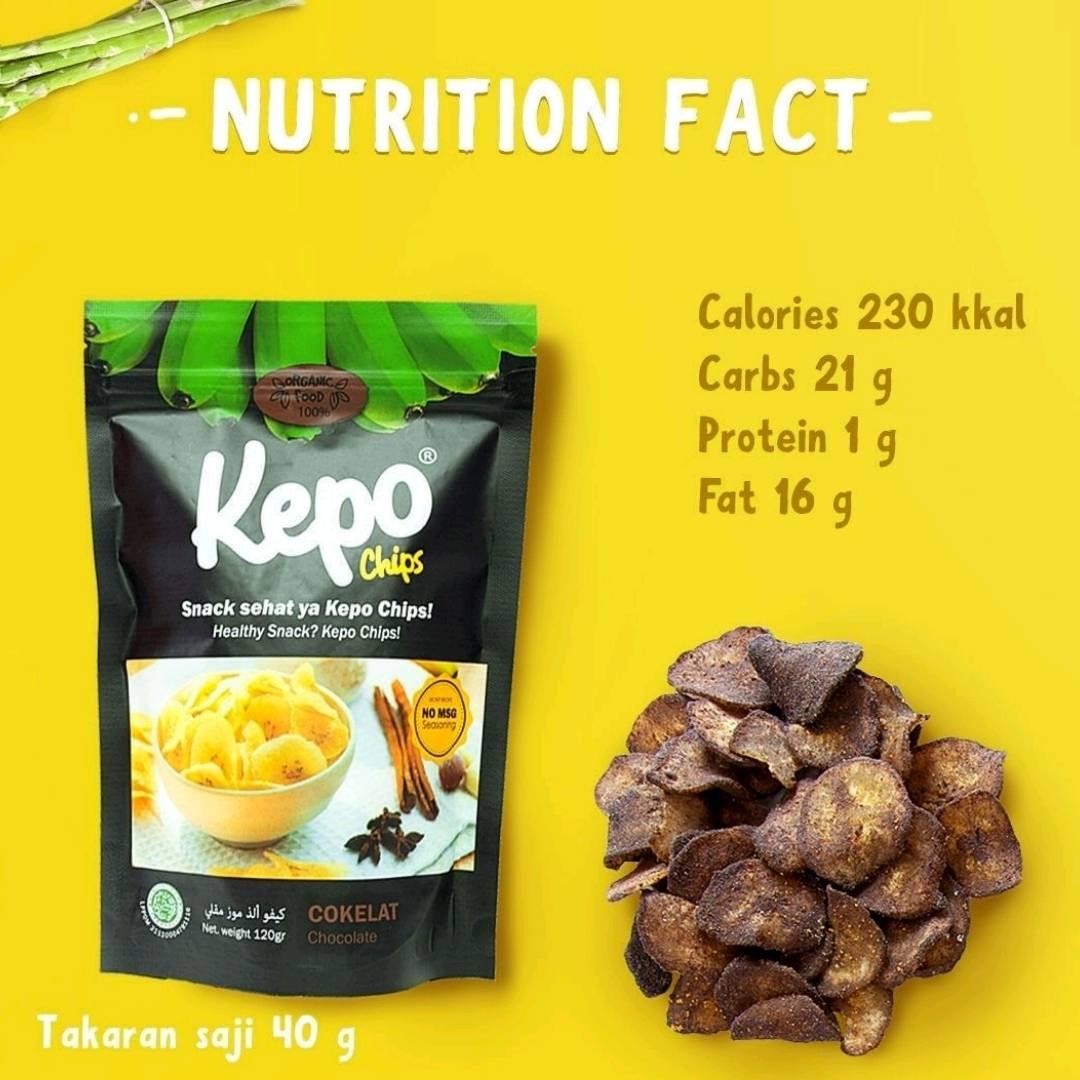 Kepo Chips Coklat