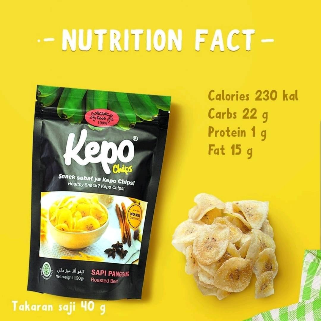 Kepo Chips Sapi Panggang