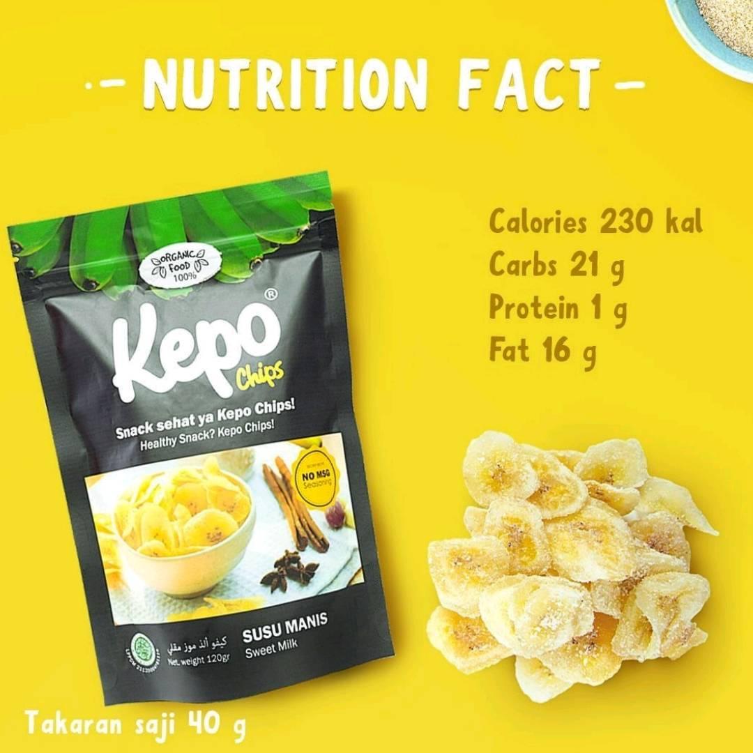 Kepo Chips Susu Manis