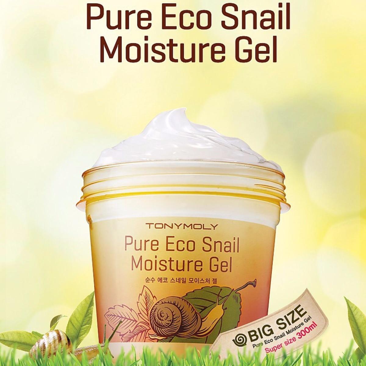 TONYMOLY - Pure Eco Snail Moisture Gel