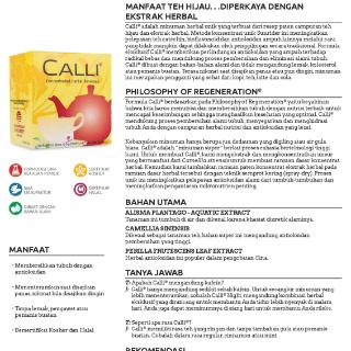 Sunrider Calli® Paket 2 Box1