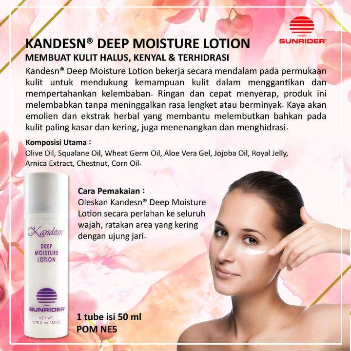 Sunrider Deep Moisture Lotion2