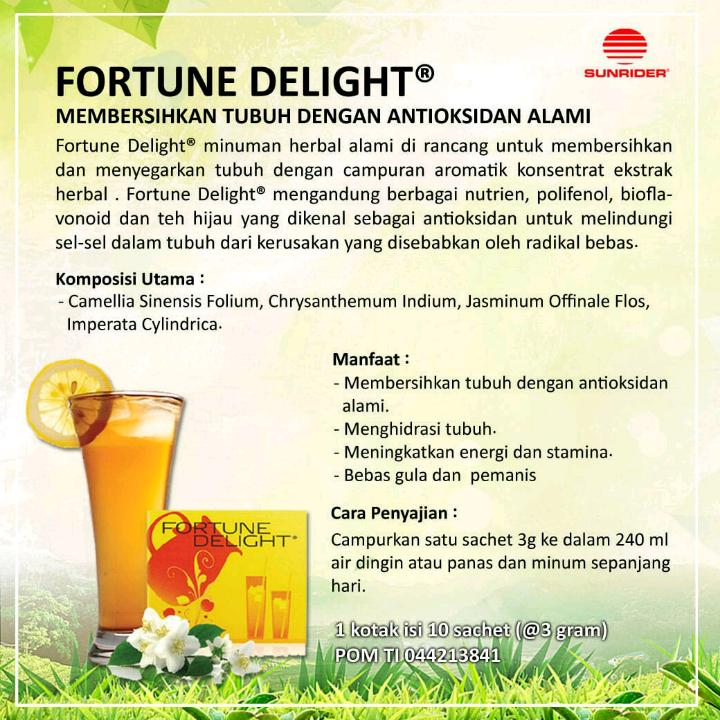 Sunrider Fortune Delight® Besar2