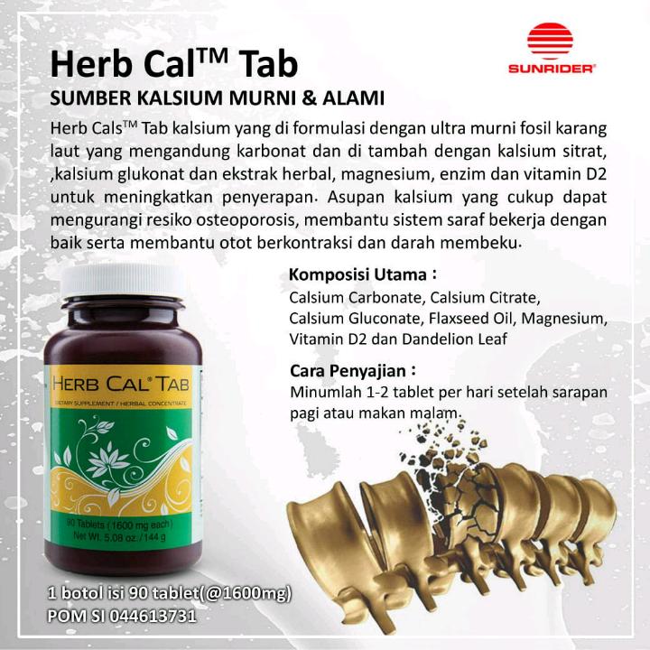 Sunrider Herb Cal® Tab2