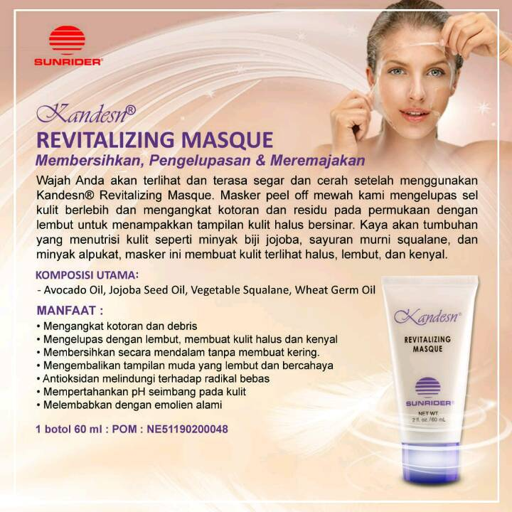 Sunrider Kandesn Revitalizing Masque
