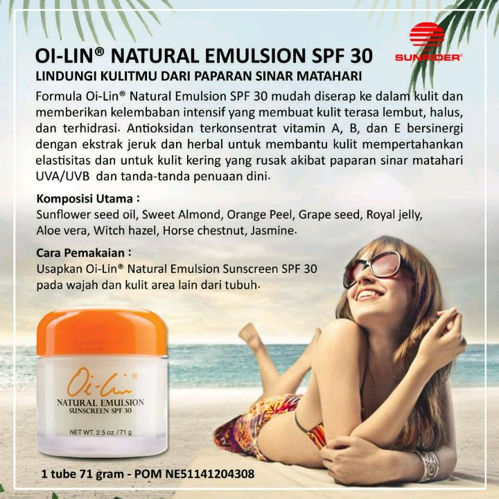Sunrider Natural Emulsion SPF302